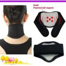Tourmaline Far-Infrared Self-Heating Magnetic Neck Massager Neck Guard