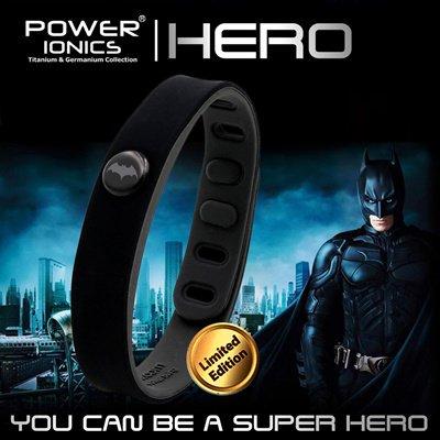 Super Hero Power Ionics 3000 ions IDEA BAND Sports Titanium Energy Bracelet Wristband