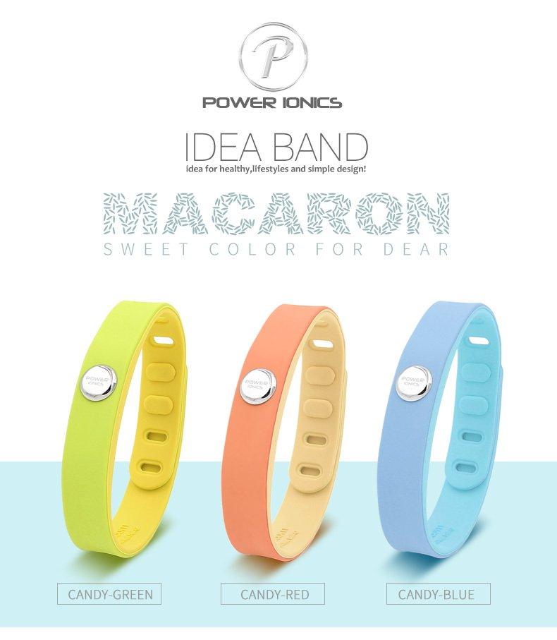 Power Ionics 3000 ions IDEA BAND Sports Titanium Bracelet Wristband