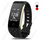 S2 Dynamic Heart Rate Smart Health Fitness Bracelet Pedometer/Sleep/Calorie Music/Remote Cam IP67