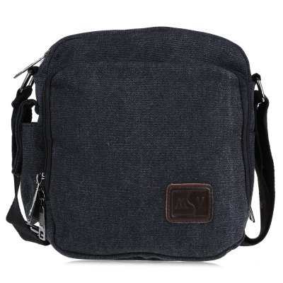 Men 100% High Quality Canvas Cross Body Single Shoulder Bag - Large capacity,