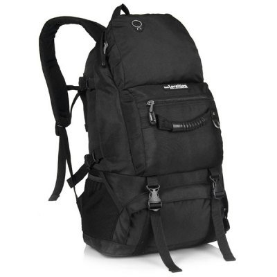 Durable Top Quality 40L Rucksack/Backpack Durable Travel Camping Hiking Hunting - Black