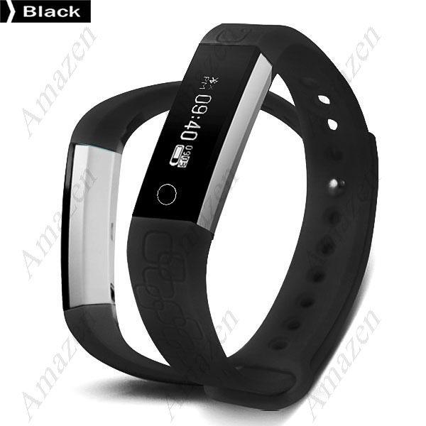 MK1 Smart Bracelet Heart Rate Monitor Pedometer Calorie Sleep Remote Camera Alarm