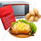 Microwave Potato Bag Reusable Easy Convenient for Potato/Corn/Carrot Cooker - 2Pcs