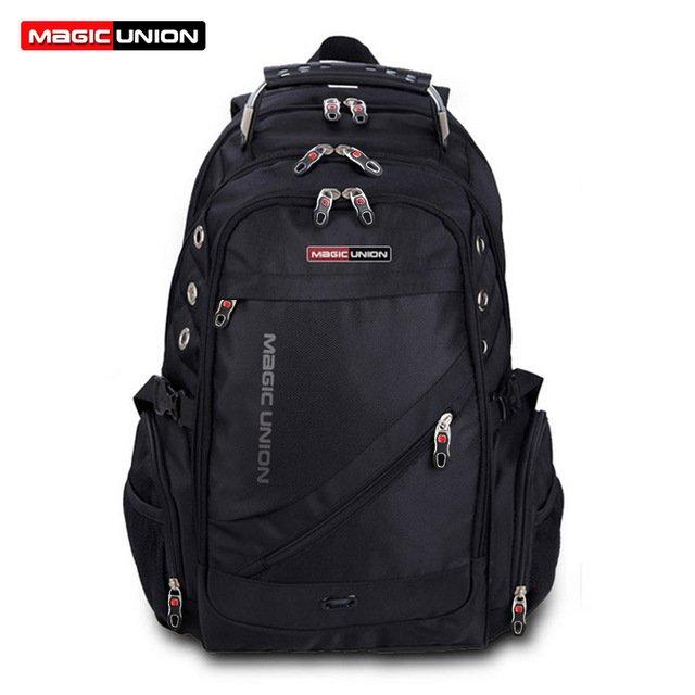 MAGIC UNION 36-55 Litre Soft Backpack Men's Travel Bag/Shoulder Bag/Computer Backpack