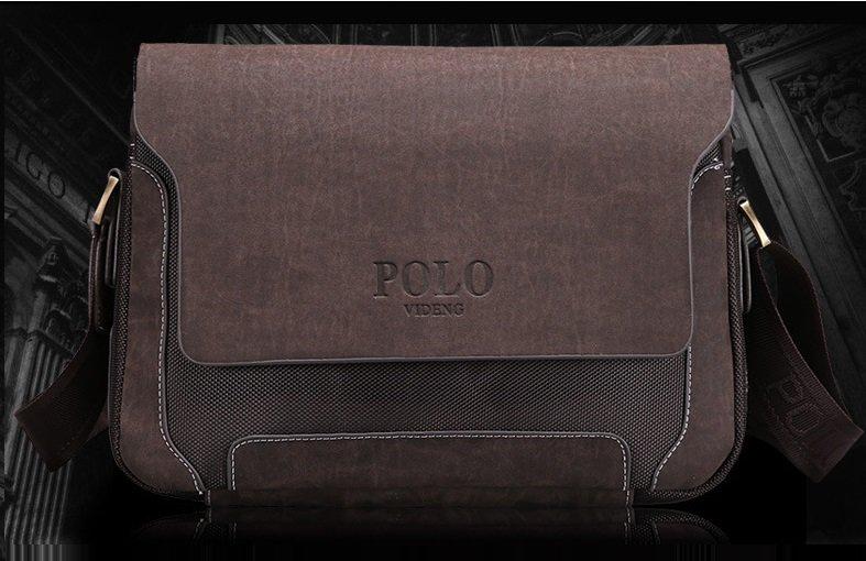 2017 Designer Brand Men's Messenger/Crossbody Bag  PU Leather Oxford