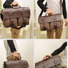 Men Canvas Vintage Casual Business Shoulder/Messenger Bag