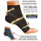 Comfort Foot ECMLN Anti Fatigue Compression Sleeve Relieve Swelling varicosity Socks