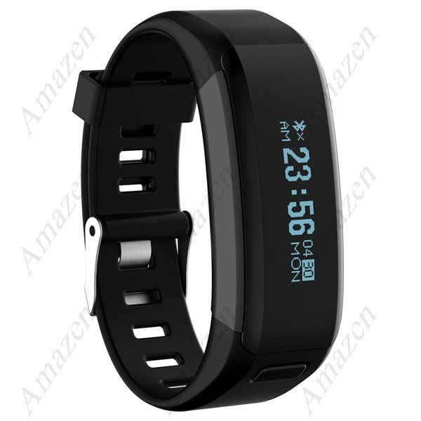 NO.1 F1 Smart Bracelet Heart Rate Monitor Calorie Sleep Pedometer - Black