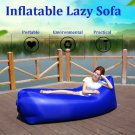 Fast Air Inflatable Portable Lazy Sofa Sleeping Bed Lounger Camping Beach Lay Bag