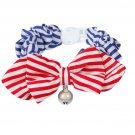 Fashion Bow Tie Cat Collar for Cats or Small Dogs - 1 Pc