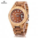 Natural Wood Japan Quartz Watch for Men!