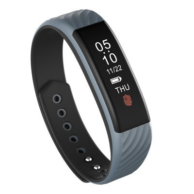 NEW! W810 Smartband/Bracelet Heart Rate Monitor Watch Fitness Tracker Pedometer Calorie Sleep -Grey