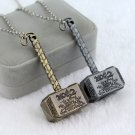 Thor Hammer Necklace Exquisite Pendant Necklace - 2 PC