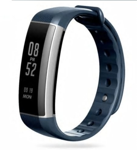 Zeblaze Zeband Plus Smart Activity Tracker - Dark Blue
