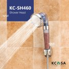 KCASA Adjustable Negative Ion SPA Pressurize Filtered Bathroom Shower Head