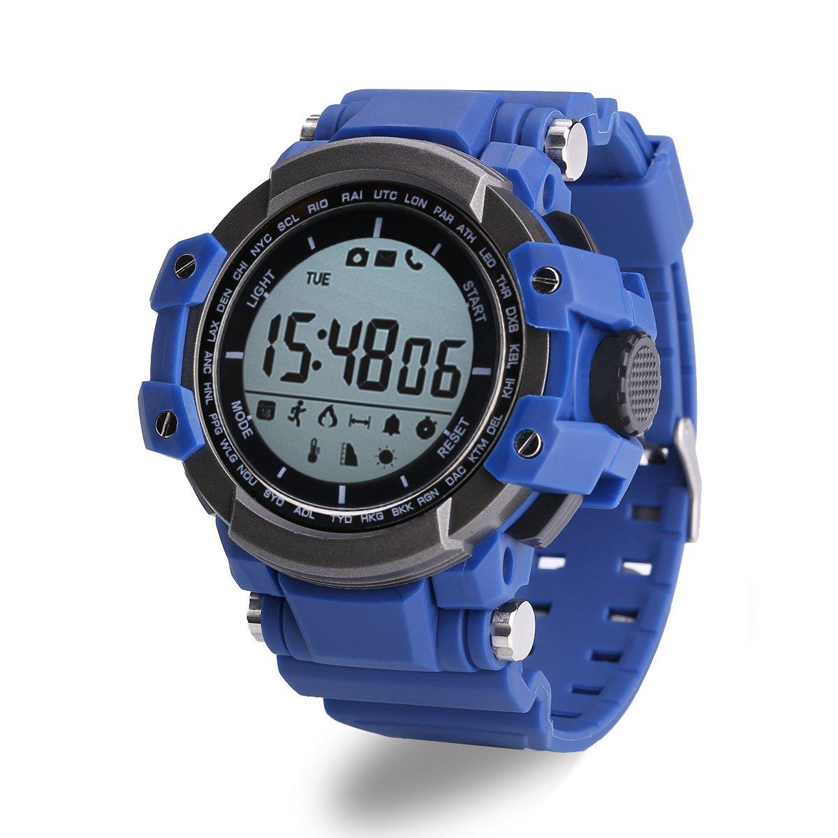 Zeblaze MUSCLE Sports Smart Watch BTH 4.0  365 days standby - Blue