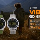 Zeblaze VIBE Hiking 5ATM Waterproof Sports Smartwatch 365 Days Stand-by Time - Black