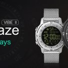 Zeblaze VIBE II 5ATM Waterproof 540 Days Stand-by Time Sport Smart Watch