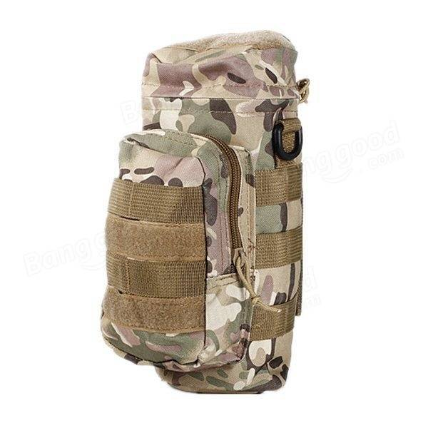 Tactical Outdoor Traveling Utility Water Bottle Bag