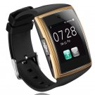 LG518 NFC Bluetooth Smart Watch Phone For Android iPhone 3D Curved Surface