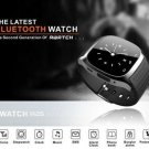 R-Watch-M26 Bluetooth Smart Watch w/Phone Call Music Player for Android - BLACK