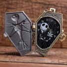 Nightmare Before Christmas Quartz Pocket Watch Retro Antique Pendant Necklace