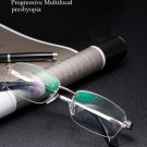 Intelligent Reading Glasses Progressive Multifocal Lens Presbyopia Alloy Frame Anti Fatigue