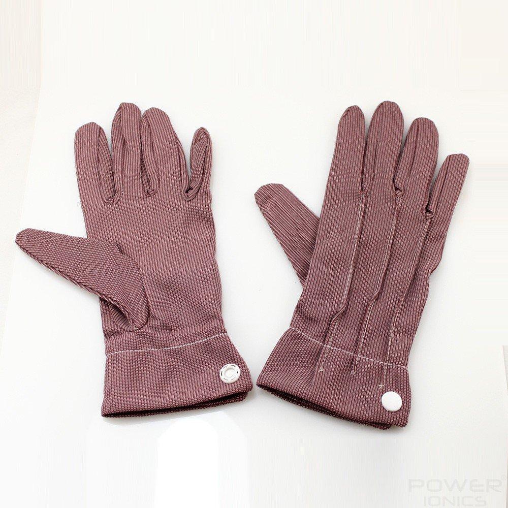 Power Ionics Women's F.I.R Magnetic Fiber Breathable Slim Arthritis Gloves