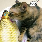 Cute Fish Shape Toy Stuffed Fish Toy for Cats!
