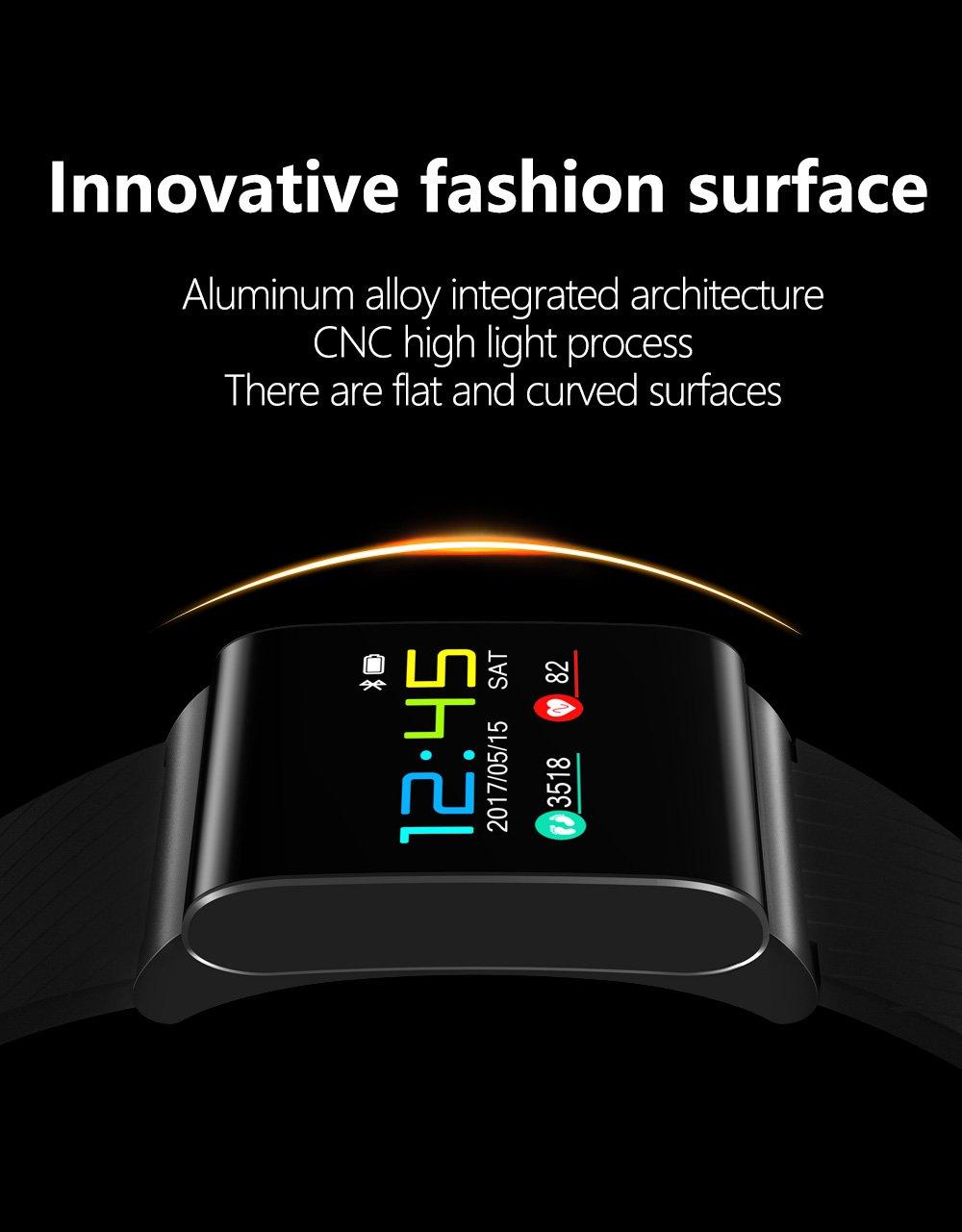 X9 PR0 Intelligent Smart Bracelet Heart Rate Blood Pressure Blood Oxygen  Activity Tracker - Black