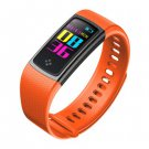 ALFA S9 Colorful Screen Smartband Heart Rate Blood Pressure Oxygen Measure Watch - Orange