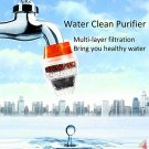 Activated Carbon Kitchen Tap Water Clean Purifier Filtration Filter Faucet (21-23mm dia)