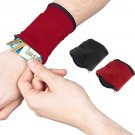 Wristband Organizer Pocket Pouch - Sports Wallet On Your Wrist!