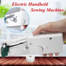 Portable Mini Electric Handheld Sewing Machine Handy Stitch DIY Sewing Machine