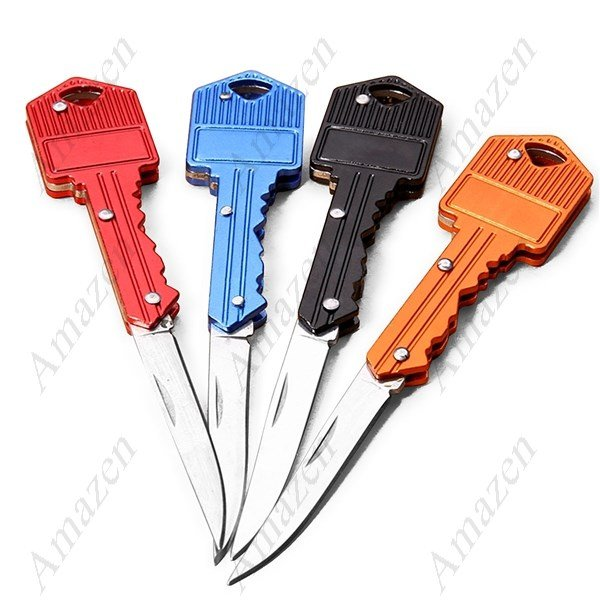 Multifunction Outdoor Portable Foldable Key Chain Key Ring Knife