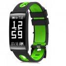 HM68 Fitness Tracker Heart Rate Blood Pressure Blood Oxygen Sports Bracelet - Green