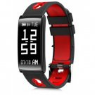 HM68 Fitness Tracker Heart Rate Blood Pressure Blood Oxygen Sports Bracelet - Red