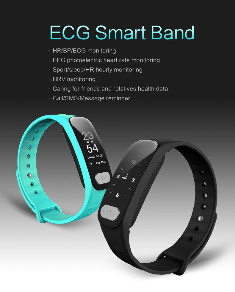 R11 Smart Band Fitness Tracker Heart Rate ECG Monitor Blood Pressure Sports Bracelet