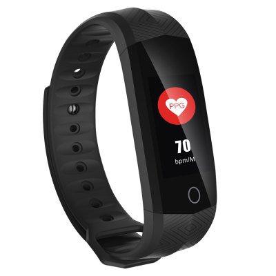 GM4 Heart Rate GPS Trajectory Movement Smart Bracelet - Black