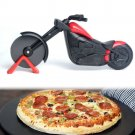 Motorcycle Pizza Stainless Steel Roller Pizza Slicer/Cutter