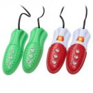 Feet Warmer Heater Deodorization Multi-function Shoes Dryer/Heater - Red/Green