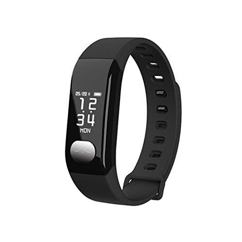 E29 ECG PPG Heart Rate / Blood Pressure / Blood Oxygen Monitor Smart Bracelet - Black