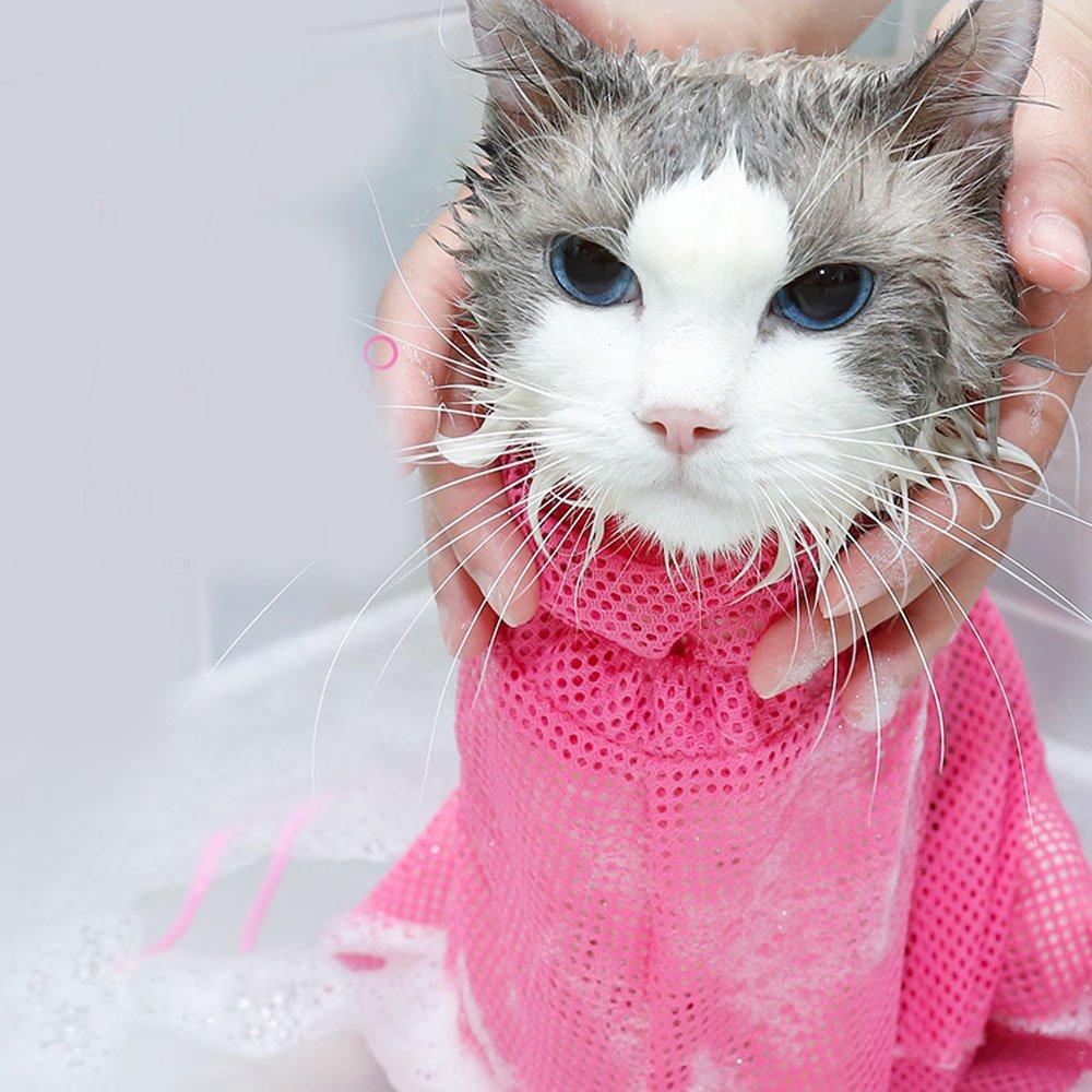 Cat Bathing/Grooming Bag Mesh