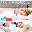 Soft Silicone Anti Snore Device Nasal Dilators Nose Clip Air Purifier