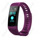 Amaze Y5.0 Fitness Tracker Smart Bracelet Heart Rate Blood Pressure Blood Oxygen iP67 - Purple