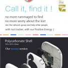Mini Smart Alarm Nut 2 Tracker Locator For iPhone Android