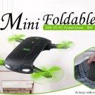 D5 Foldable RC Pocket Quadcopter 2.4GHz RC WiFi 0.3MP Camera/G-sensor Mode/Waypoints