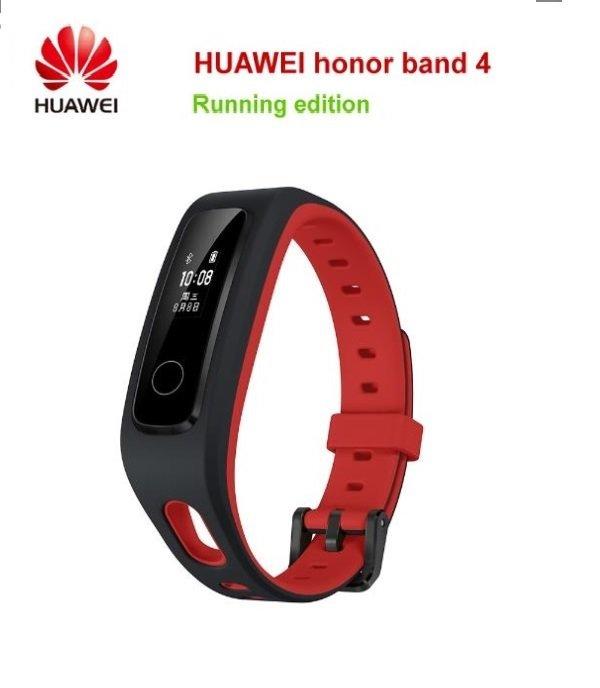 Huawei Honor Band 4 Running Version Shoe-Buckle Land Impact Smart Watch Band - Red