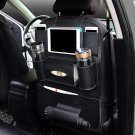 Multi-functional PU Leather Car Back Seat Storage Organizer Multi Pocket